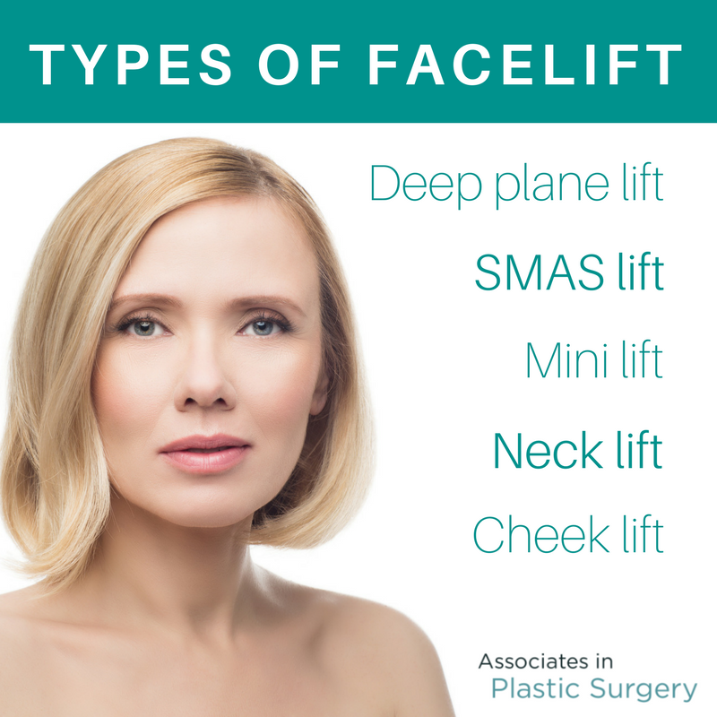 What Type Of Facelift Do You Need Associates In Plastic Surgery